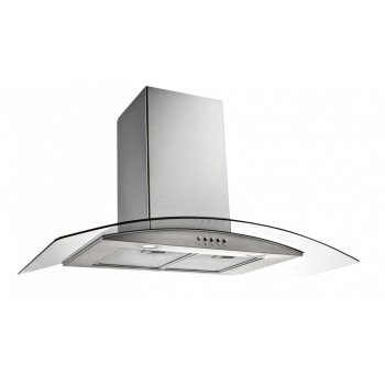 Emilia 90 CM Curved Glass Rangehood CK90CGFP