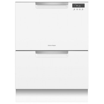 DD60DCW9 Fisher and Paykel 14 Place Settings Double DishDrawer Dishwasher