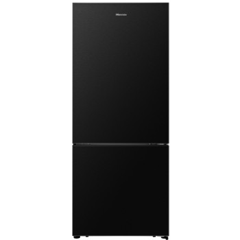 HR6BMFF453B Hisense 453 L Bottom Mount Black Steel Fridge