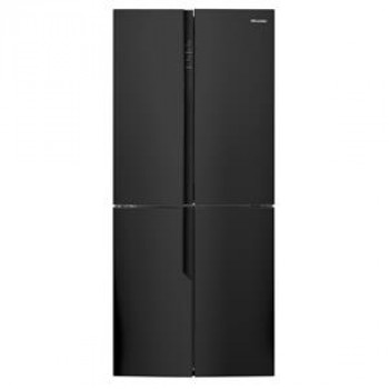 HR6CDFF512C Hisense 512 L Black French Door Fridge