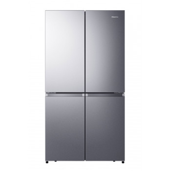 HR6CDFF670S Hisense 670 L Stainless French Door Fridge - Pure Flat Design