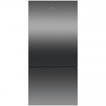 RF522BRPB6 Fisher and Paykel 519L Bottom Mount Fridge in Black Stainless Steel