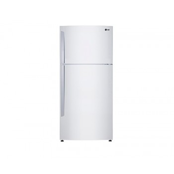 LG ELECTRONICS 442 L Stainless Steel Top Mount Fridge  GT442BWL