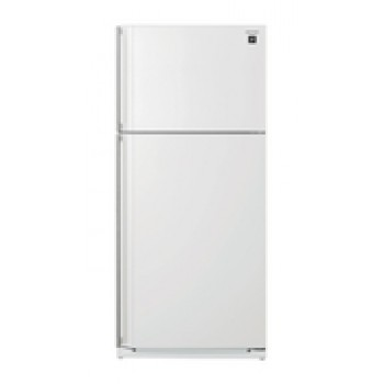 SJSC584RWH SHARP 584L Top Mount Refrigerator in White finish