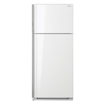 SJGJ584VWH SHARP 585L Top Mount Refrigerator with White Glass Door finish