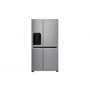 GS-L668PNL LG 668 L Side by Side with Non Plumbed Ice & Water Dispenser Fridge