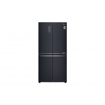 GF-B590MBL LG 594L Slim French Door Fridge, in Matte Black Finish