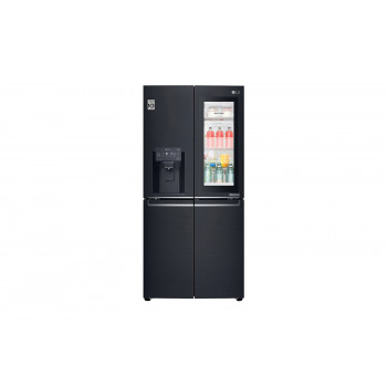 GF-V570MBL LG 570 L Slim French Door Fridge with InstaView Door-In-Door