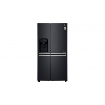 GS-L668MBNL LG 668 L Side by Side Fridge Non-Plumbed Ice & Water Matte Black Finish