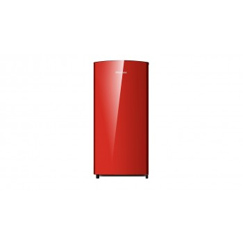 HISENSE 157L RED BAR FRIDGE  HR6BF157R