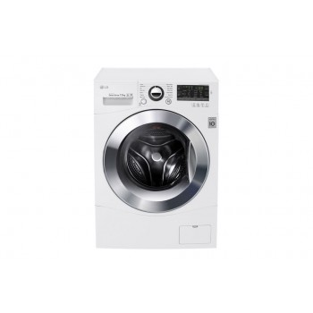 LG ELECTRONICS 7.5kg Front Load Washing with TurboClean, 6 Motion Direct Drive  WD1475NPW
