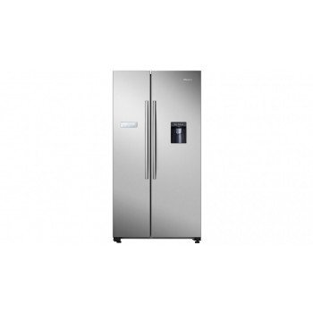HR6SBSFF624SW Hisense 624 L SIDE BY SIDE STAINLESS Refridgerator