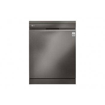 XD3A15BS LG 15 Place QuadWash Dishwasher in Black Stainless Finish