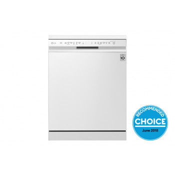XD5B14WH LG 14 Place QuadWash Dishwasher in White Finish