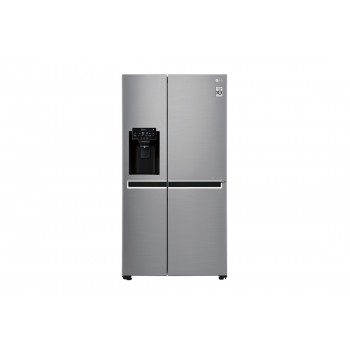 GS-L668PL LG 668L Side by Side with Plumbed Ice & Water Dispenser Fridge