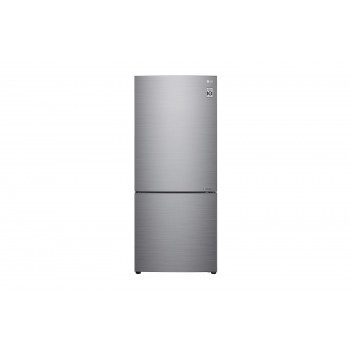 GB-455PL LG 454L Bottom Mount Fridge with Door Cooling in Stainless Finish