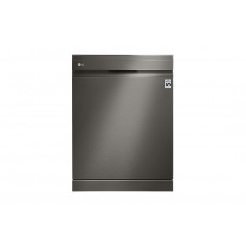 XD3A25BS LG 15 Place QuadWash Dishwasher in Black Stainless Finish with TrueSteam