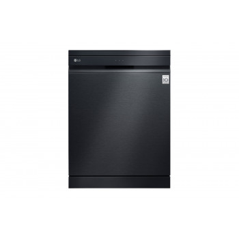 XD3A25MB LG 15 Place QuadWash Dishwasher in Matte Black Finish with TrueSteam
