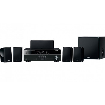 YHT1840B YAMAHA 5.1 Inch HOME THEATRE SYSTEM BLACK