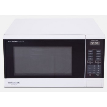 SHARP R350YW 1200W MIdsize Inverter and Sensor MICROWAVE