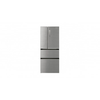 NRD655XGSAU Panasonic 653L  Premium Glass Door Finish French Door Fridge - Silver Fridge