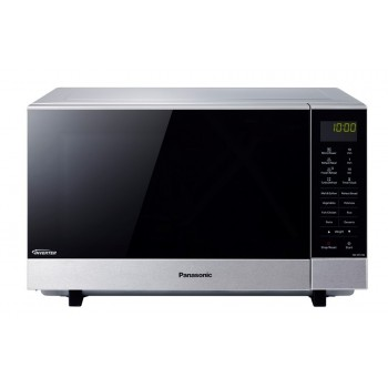 NN-SF574SQPQ PANASONIC 27L FLATBED STAINLESS STEEL MICROWAVE