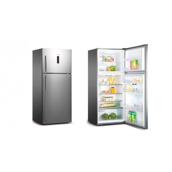 HISENSE 526 Litre Stainless Steel Top Mount Fridge  HR6TFF527SD